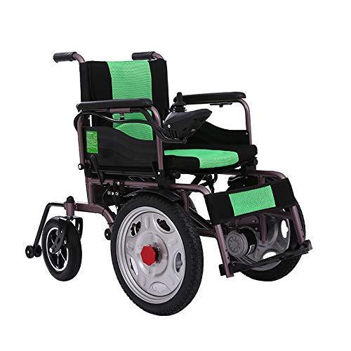 Y-L kinderwagen voor Anziani met rolstoel, licht, inklapbaar, inklapbaar, inklapbaar, van carbon, 250 W, Dual Motorsmart (zwart), zwart