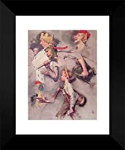 The Land of Enchantment 15x18 Framed Art Print by Rockwell, Norman