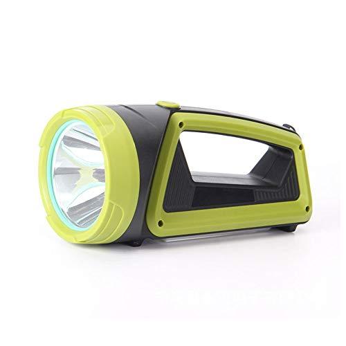 Luz de emergencia LED fuerte luz de largo alcance portátil tienda de campaña al aire libre luz de búsqueda impermeable proyector con pilas lámpara al aire libre para senderismo pesca cortes
