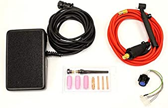 NOVA Tig Kit compatible with Lincoln Power Mig 210 MP Welder K3963-1 Accessory Kit