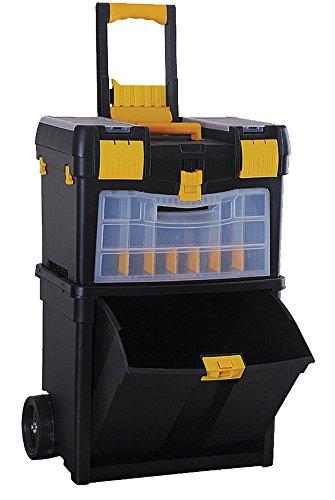 Workmen serv472662–1carro trolley plástico, negro