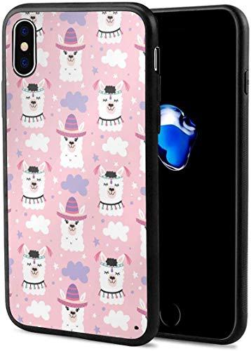 Romance-and-Beauty Estuche Aplaca Blama para iPhone X, Estuche para teléfono de Gel de Goma TPU Suave, ultradelgado, Brillante, Suave, Compatible con iPhone X