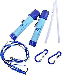 Water Filter Straw X 2 Pack - Pure Life Source