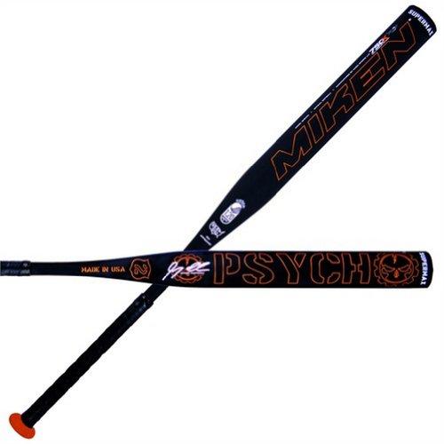 Miken Izzy Psycho Supermax USSSA Slowpitch Softball Bat, 34-Inch/26-Ounce