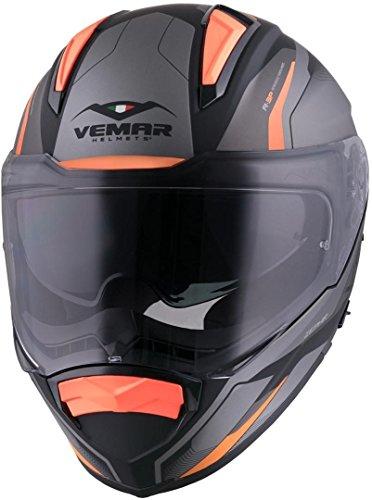 Vemar Zephir Lunar 2017 casco Arancione