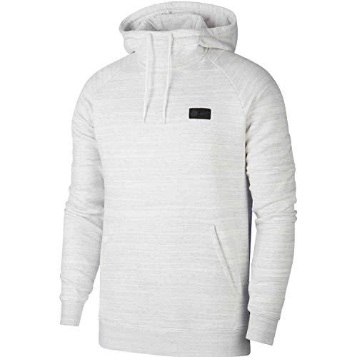 Nike Paris Saint-Germain Sweatshirt, Herren, Weiß/Wolf Grey/Midnight Navy, M