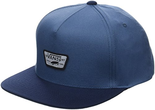 Vans_Apparel Herren Mini Full Patch II Snapback Baseball Cap, Blau (Copen Blue-Dress Blues Pdz), One Size