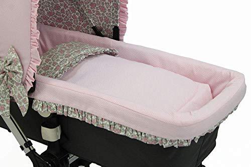 Deckt personalisierte Babytragetasche für Kinderwagen ab.