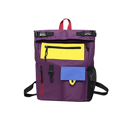Cool Style Rucksack Frauen Ox Rucksäcke für Mädchen im Teenageralter Schultaschen Reisen Umhängetaschen Campus Pule