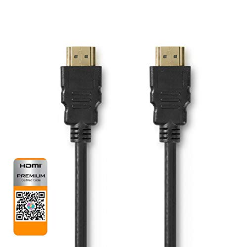 Premium High Speed HDMI?-Kabel met Ethernet HDMI?-Connector - HDMI?-Connector 1,00 m Zwart