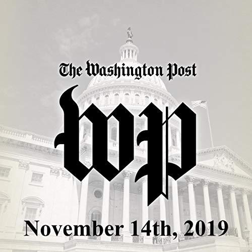November 14, 2019 audiobook cover art