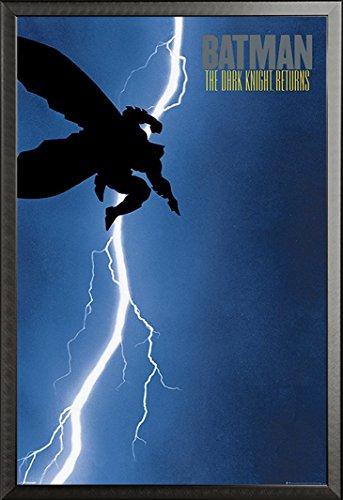 Empire Poster Batman The Dark Knight Returns + accessoires de fixation Cadre alu/noir