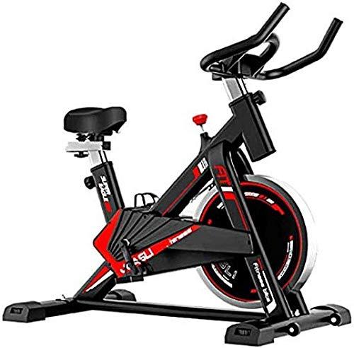 Bicicletas de ejercicio vertical con resistencia ajustable súper silenciosa con volante conducido por cinturón para uso en el hogar y en el gimnasio, entrenamiento cardiovascular