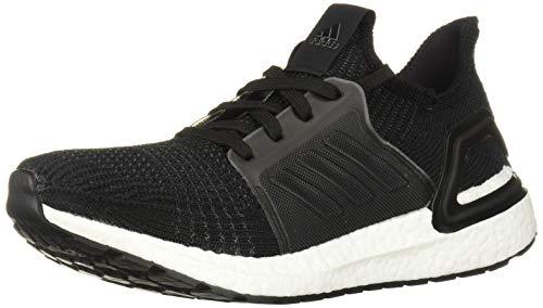 adidas Women's Ultraboost 19 Running Shoe, Black/Grey/Solar Orange, 5.5 UK