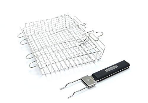 Broil King Multi-Grillkorb, 35x30x6,5cm. Grill-/Grillzubehör, Edelstahl, 5 x 5 x 5 cm