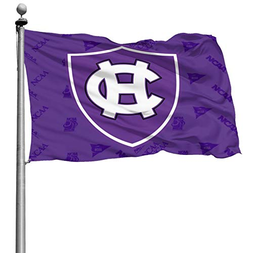 Littlearth NCAA Holy Cross Crusaders 4x6ft Colorfast Uv Resistant 100% Polyester Durable Outdoor Flag Home Garden Flag Yard Banner Flag 4x6 Foot Indoor Or Outdoor Holiday Decorative Flag