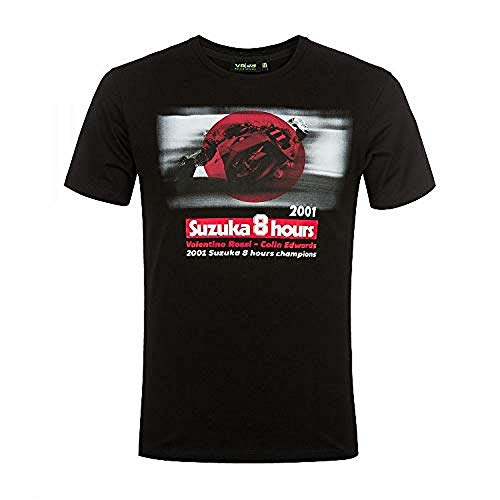 Valentino Rossi Vr46 Lifestyle, Herren T-Shirt, Schwarz, XS