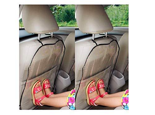 Auto Housse de Siège, Siège Auto Voiture De Couverture De Protection pour Les Enfants Protecteur Kick Mat (2PC)