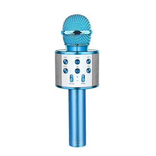 LetsGO toyz Regalo Bambina 4 5 6 7 8 9 10 11 12 Anni, Bluetooth Microfono Karaoke per Bambini Giocattoli Ragazzo 8-15 Regali di Natale Bambini Giocattoli Bambino 4-15 Anni Femmina