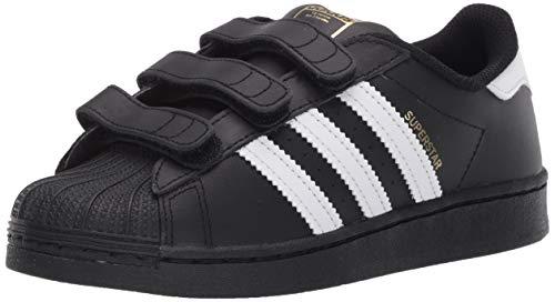 Adidas Originals Superstar Cloudfoam Chaussures de course pour enfant, Noir (Noir / blanc / noir.), 18 EU
