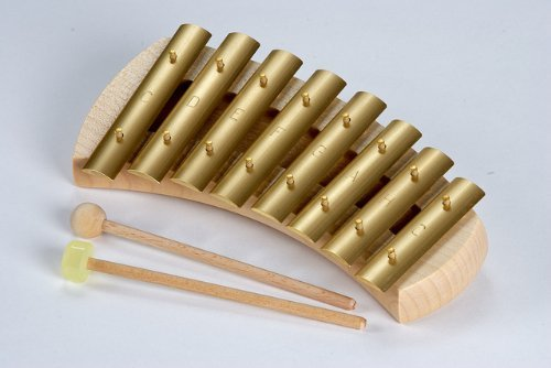 Auris Glockenspiel Xylophone Diatonic Rounded 8 Tone