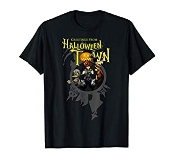 Disney Kingdom Hearts Greetings From Halloween Town T-Shirt