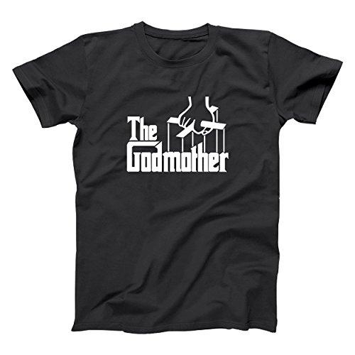 The Godmother Italian Mob Funny Mafia God Mother Classic Unisex Shirt X-Large Black