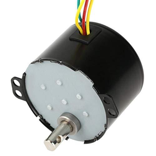 desgaste- Motorreductor síncrono Velocidad ajustable AC220V para equilibrar automóviles para gabinetes de TV ocultos para rastrear automóviles(15 revolutions)