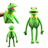 N\ A Kermit The Frog Puppet Plushie Toy Soft Stuffed Animal Hand Show Doll Children's Gifts 60cm/Green