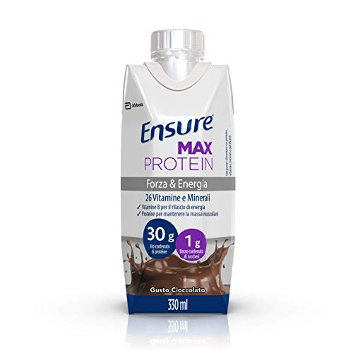 Ensure Max Protein Integratore Proteico al Cioccolato 8x330ml