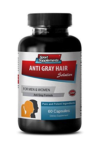 Nettle Root Extract Powder - Anti Gray Hair - Anti Gray Hair serum (1 Bottle - 60 Capsules)