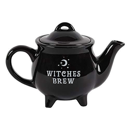 Witches Brew Ceramic Black Tea Pot