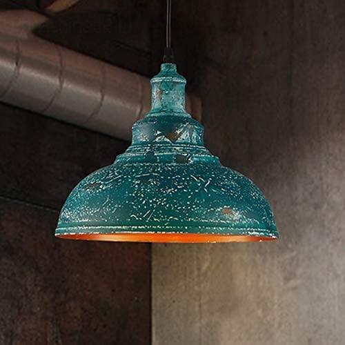 MQJ Vintage industrial luz de techo retro loft creativo hierro lámparas colgantes E27 zócalo restaurante luz suspensión luz para sala decoración iluminación alambre 180 cm ajustable
