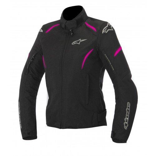 Alpinestars Stella Gunner Waterproof, chaqueta para moto, talla XL, color negro y fucsia