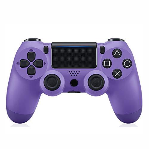EtexFan Mandos PS4 Inalambricos, Controlador de Juegos PS4 Inalámbrico Bluetooth Gamepad de Doble Vibración 6-Axis para Playstation 4/PS3/PC - Clásico Morado