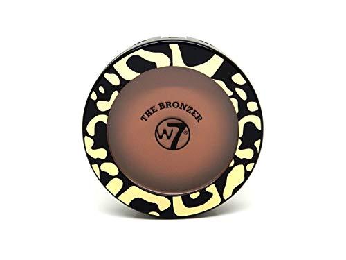 W7 The Bronzer Matte Compact Bronzepuder, 2er Pack(2 x 14 grams)