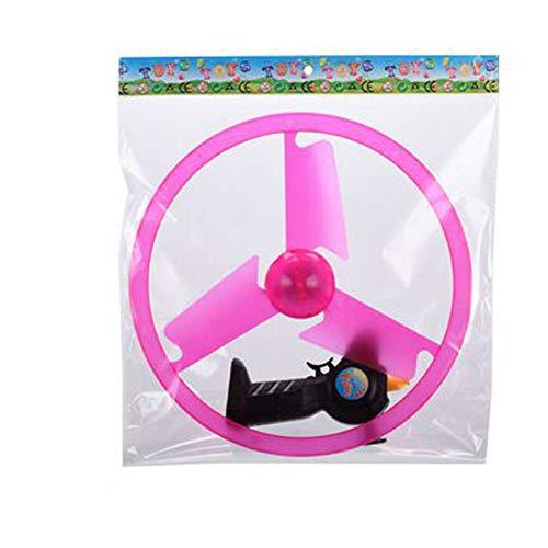 Xingying Divertido juguete volador giratorio llevó el procesamiento de la luz Flash juguete volador para los niños al aire libre, bola de vuelo juguete para niños niñas adultos regalo