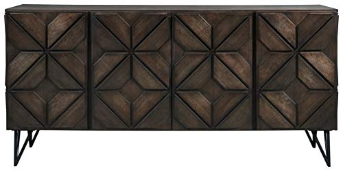 Signature Design by Ashley Chasinfield TV Stand, Brown/Beige
