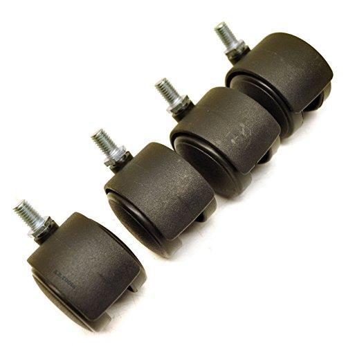 A B Tools Roulette Double roulettes pour chaises de Bureau Tables Sil160
