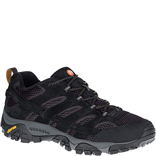 Merrell Men's Moab 2 Vent Hiking Shoe, Black Night, 11 M US