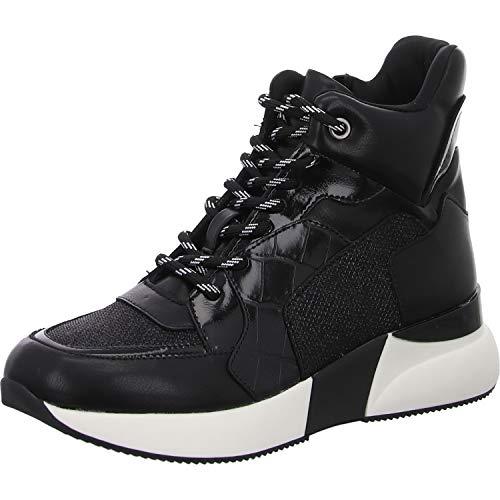 La Strada High - Botines para mujer, color negro, color Negro, talla 39 EU