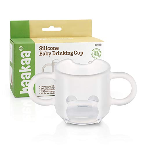 Haakaa Silicone Toddler Cups, BPA Free Drop-proof Training Cups for Baby 6 Months+, 5 Ounce