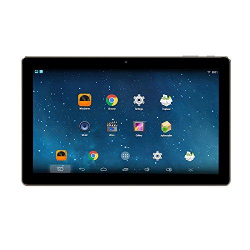 Helmer Bluetooth versterker aan de muur met wifi, multi-room stereo-audiosysteem Android met 10,1 inch HD touch videodisplay U10, Blanco Y Gris