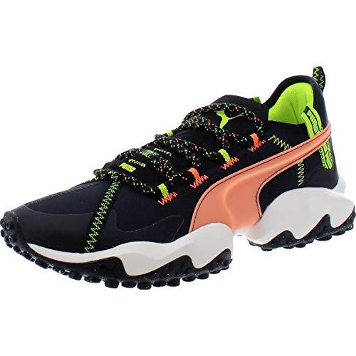 PUMA Mens Erupt Trail FM Black Athletic Running Shoes 11