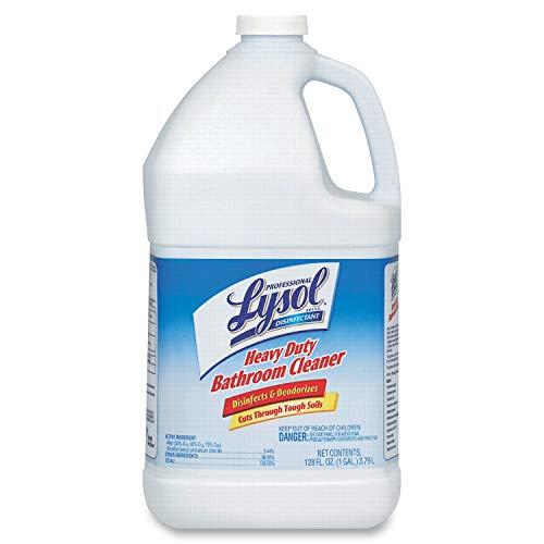 Lysol Heavy-Duty Bath Disinfectant, 1 Gal. Bottles, 4/Carton