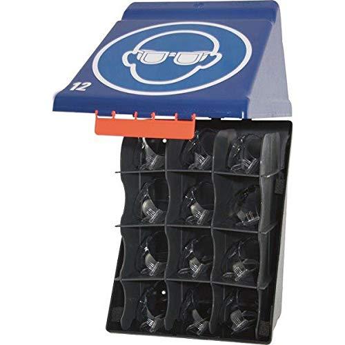 GEBRA - Spezialbox Maxi zur Aufbewahrung von 12 Schutzbrillen Maße (BxHxT): 23,6 x 31,5 x 20,0 cm