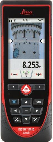 Leica DISTO S910 Laser-Entfernungsmesser, Punkt-zu-Punkt-Messung, Rot/Schwarz, 799097