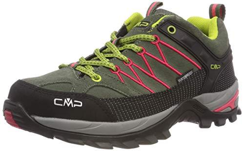 CMP Rigel Low, Chaussures de Randonnée Basses, femme, Vert, 37 EU