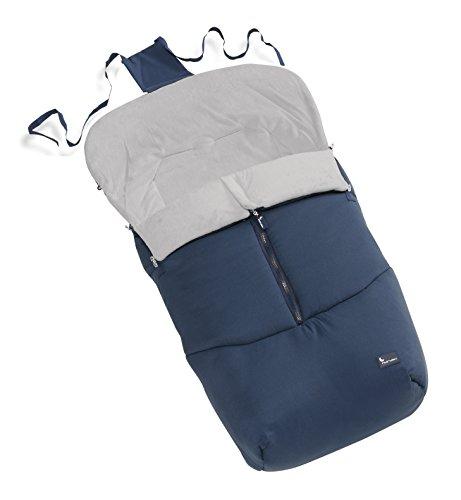 INTERBABY- Saco universal para sillas de bebé, Azul marino