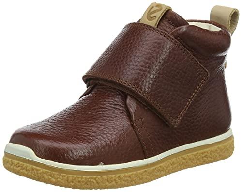 ECCO Unisex Baby Ecco Crepetray Mini Sneaker, Braun (Cognac 1053), 22 EU